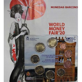 2020 - ESPAÑA - EUROS -   WORLD MONEY FAIR - MUDEJAR ARAGON