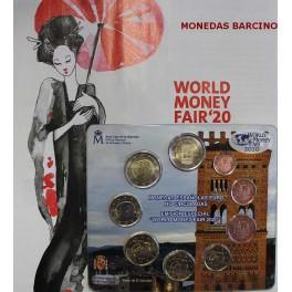 2020 - ESPAÑA - EUROS -   WORLD MONEY FAIR - MUDEJAR ARAGON