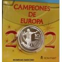 2012 - ESPAÑA - 10 EUROS - CAMPEONES EUROPA - PLATA-monedasbarcino