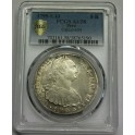 1799 - CARLOS IV - 8 REALES -  LIMA  -PCGS AU58 - PLATA-monedasbarcino