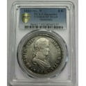 1816 - FERNANDO VII - 8 REALES - PCGS -GUADALAJARA - PLATA-monedasbarcino