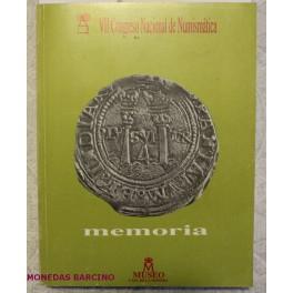 1989 - CONGRESO NACIONAL NUMISMATICA - MEMORIA
