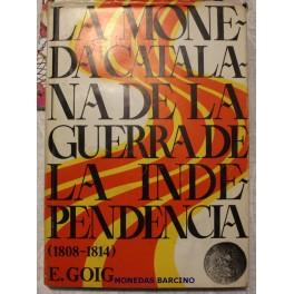 1974 - MONEDA CATALANA - GUERRA INDEPENCIA- LIBRO -CATALOGO