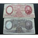 1966-1969 ARGENTINA - 1000-10000 PESOS- BANCO CENTRAL-2 BILLETE - BANKNOTE