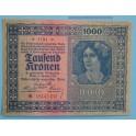 1922 - AUSTRIA - 1000 KRONEN - BILLETE - BANKNOTE