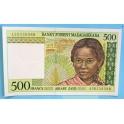 1994 MADAGASCAR- 500 FRANCOS -ARIARY ZATO-BILLETE-BANKNOTE