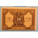 1000- INDOCHINA FRANCESA - 10 CENTS - BILLETE - BANKNOTE