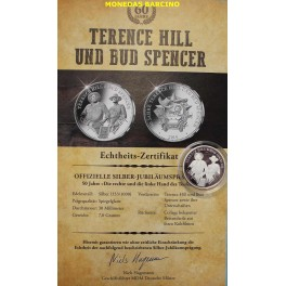 2019 - ALEMANIA -TERENCE HIL- BUD SPENCE- DEUTSCHLAND-MEDALLA