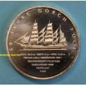 2008- ALEMANIA - 10 EUROS  - BARCO FOCK - DEUTSCHLAND