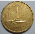 1976 - PERU - 1 SOL - ORO - REPUBLICA PERUANA LIMA
