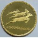 1969 - YEMEN -10 RYALS- GOLD-  MEMORIAL