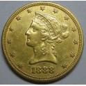 1888 - 10 DOLLARS-ESTADOS UNIDOS AMERICA- ORO