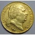 1817 -  FRANCIA - 20 FRANCOS -ORO - LOUIS XVIII