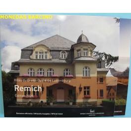 2020 - LUXEMBURGO - EUROS - REMICH - 9 MONEDAS