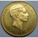1878 - ALFONSO XII - 25 PESETAS - ESPAÑA