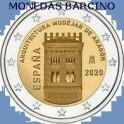 2020 - ESPAÑA - 2 EUROS - MUJEJAR - ARAGON-