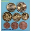 2020 - AUSTRIA - EUROS -  8 MONEDAS  - OSTERREICH