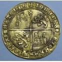 1454 -  JUAN II- DOBLA DE LA BLANCA - SEVILLA-ORO-GOLD