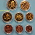 2010 AUSTRIA - EUROS- COLECCION 8 MONEDAS