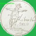 2014 - FRANCIA - 10 EUROS - FRATERNITE - PLATA