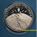 2007 - ITALIA - 5 EUROS -  PROTOCOLO KIOTO -PLATA