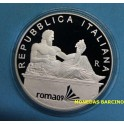 2009 - ITALIA - 5 EUROS -  NATACION -PLATA