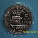 2008 - SAN MARINO - 5  EUROS - PLANETA TIERRA