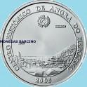 2005 - PORTUGAL - 5 EUROS - ANGRA - UNESCO