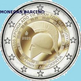 2020 - GRECIA  - 2 EUROS - TERMOPILAS