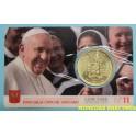 2020 -  VATICANO -  50 CENTIMOS EUROS -COINCARD 10 - FRANCISCO - COINCAR