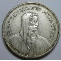 1935 -  SUIZA -  5  FRANCOS - HERVETIA - 5 francs -                            - SCHWEIZ