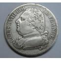 1814-5-francs-francia-france-Louis XVIII-