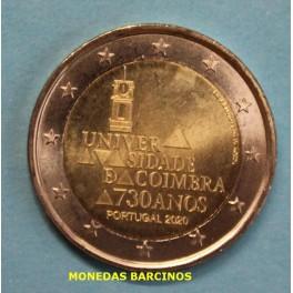 2020 - COIMBRA - 2 EUROS - PORTUGAL