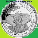 2021 - ELEFANTE - 100 SHILLINGS - SOMALIA - ONZA - AFRICA -