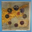 2008 - CHIPRE - EUROS - COLECCION - 8 MONEDAS