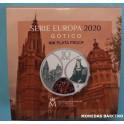 2020 - GOTICO - 10  EUROS - PLATA - ESPAÑA