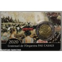 2020 - PAU CASALS - CATALUÑA - 2 EUROS - PRUEBAS