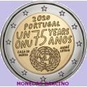 2020 - ONU - 2 EUROS - PORTUGAL