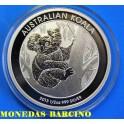 2013 - AUSTRALIA - 1/2 ONZA - 50 Cts-  KOALA