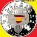 2020 - HEROES - HEROINAS - 30 EUROS - ESPAÑA - PLATA COLOR