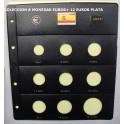 2003 - PARDO - HOJAS  COLECCION  EUROS 9 esp.