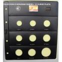 2006 - PARDO - HOJAS  COLECCION  EUROS 9 esp.