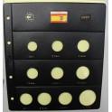 2007 - PARDO - HOJAS  COLECCION  EUROS 10 esp.