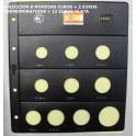 2005 - PARDO - HOJAS - COLECCION  EUROS 10 esp.