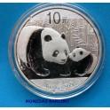 2011 - CHINA - ONZA - 10 YUAN -OSO PANDA - PLATA