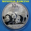 2013 - CHINA - 1 ONZA - 10 YUAN - OSO PANDA