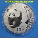 2002 - CHINA - ONZA - OSO PANDA - PLATA