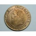 1862 - NAPOLEON - 1 CENTIMO - FRANCIA - BRONCE