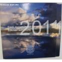 2011 - ESTONIA - EUROS - 8 MONEDAS -BLISTER