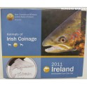 2011 - IRLANDA -  EUROS - PEZ SALMON - EIRE